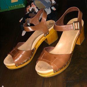 Ugg platform wedges heels shoe sandals slides